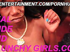 Nasty Ebony Teens Take Huge Facials All Over Their Pretty Faces