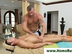 Erotic gay massage for straight guy