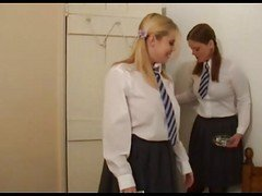 Schoolgirls Smoking Fetish