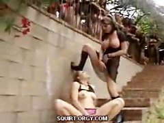 Lesbian Outdoor Squirting