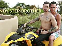 Johnny Torque & Javier Cruz in Handy Step Brother XXX Video - NextdoorBuddies