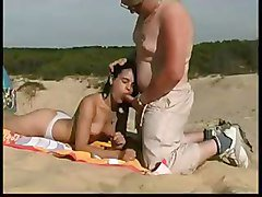 Decibelle Fucked On The Beach