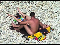 Hidden camera on the beach 9
