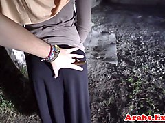 Forbidden arab amateur pussypounded in hijab