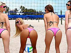 Beach Volleyball - BFFs