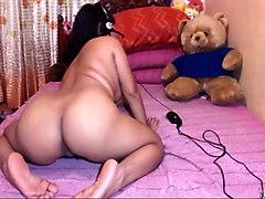 lewd all naked big racked amateur webcam latina milf went solo for me