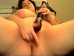 super duper fat webcam mature whore was playing with a toy and her slit